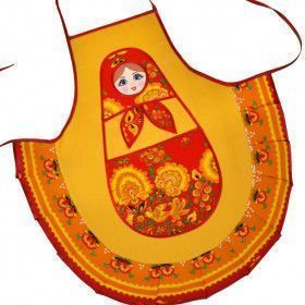 Russian Doll Kitchen Apron