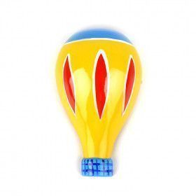 Wooden Hot Air Balloon Magnet