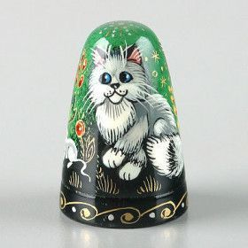 Cats And Mouse Thimble
