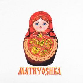Russian Shirt Matryoshka - Size Small