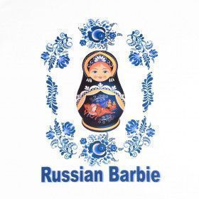 Russian Barbie Girl's T-Shirt