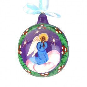Christmas Angel Wooden Ball
