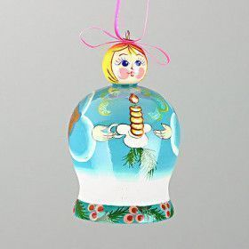 Christmas Angel Bell Ornament