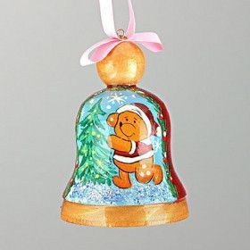 Winnie-the-Pooh Christmas Bell