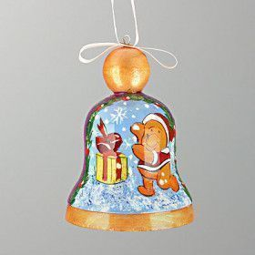 Christmas Winnie-The-Pooh Bell
