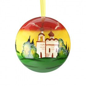 Russian Church Ball Ornament