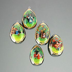 Fairy Tales Eggs Ornaments
