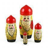 Russian Warriors Stacking Doll
