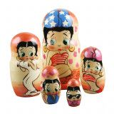 Betty Boop Nested Doll