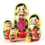 Red Roses 5 Pcs. Set