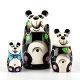 Cute Panda Matryoshka Doll