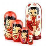 The Betty Boop Collectible Stacking Doll