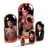 Muhammad Ali Stacking Doll