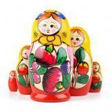 Russian Colorful Maiden Matryoshka