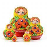 "Bright & Little 3"" Tall Matryoshka"