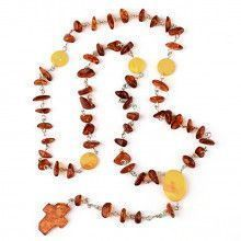 Simple Honey Amber Rosary