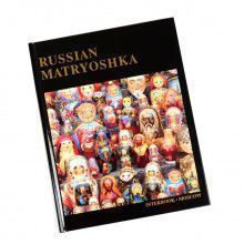 Russian Matryoshka Coffee Table Book