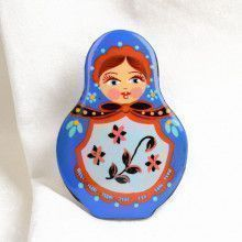 Nesting Doll Brooch