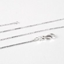 Sparkly Diamond Cut Silver Chain