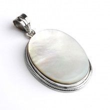 Simply Elegant Mother of Pearl Pendant