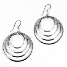 Connected Hoops Earrings