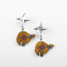 Sterling Silver Southwestern Earrings