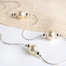 Pearl & Silver Necklace