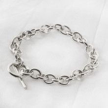 Classic Chain Toggle Bracelet