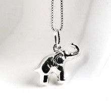 Small Silver Elephant