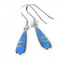 Elegant Opal Drop Earrings