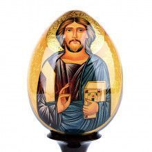 Handpainted Jesus Christ Russian Egg