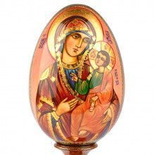 Large Icon Egg of Blessed Smolensk Virgin