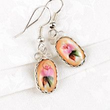 Small Oval Finift Earrings
