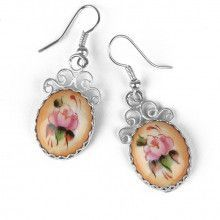 Russian Enameled Earrings