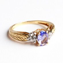 Tanzanite & Diamonds Ring