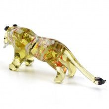 Glass Tiger Figurine