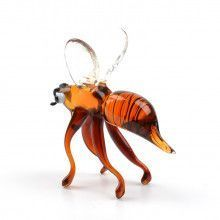 Busy Bee Glass Figurine