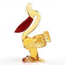 Pelican Glass Figurine