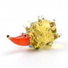 Small Hedgehog Glass Figurine