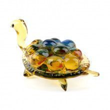 Sea Turtle Glass Figurine
