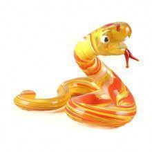 Snake Glass Figurine