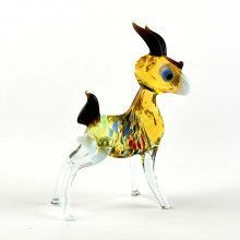 Mama Goat Glass Figurine