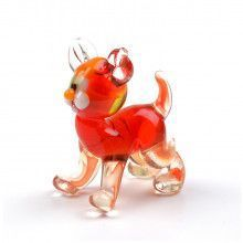 Tiny Tiger Glass Figurine