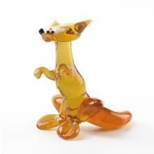 Sly Fox Glass Figurine
