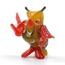 Teaching Owl Glass Figurine
