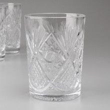 Crystal Glass for Russian Tea Glass Holder