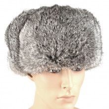 Real Fur Russian Ushanka Hat