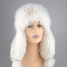 Russian Polar Fox Hat
