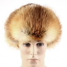 Russian Red Fox Fur Ushanka