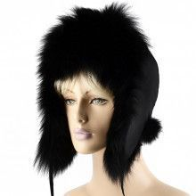 Women's Genuine Fox Fur Bomber Hat